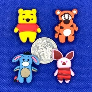Winnie the Pooh and Friends Shoe Charm set